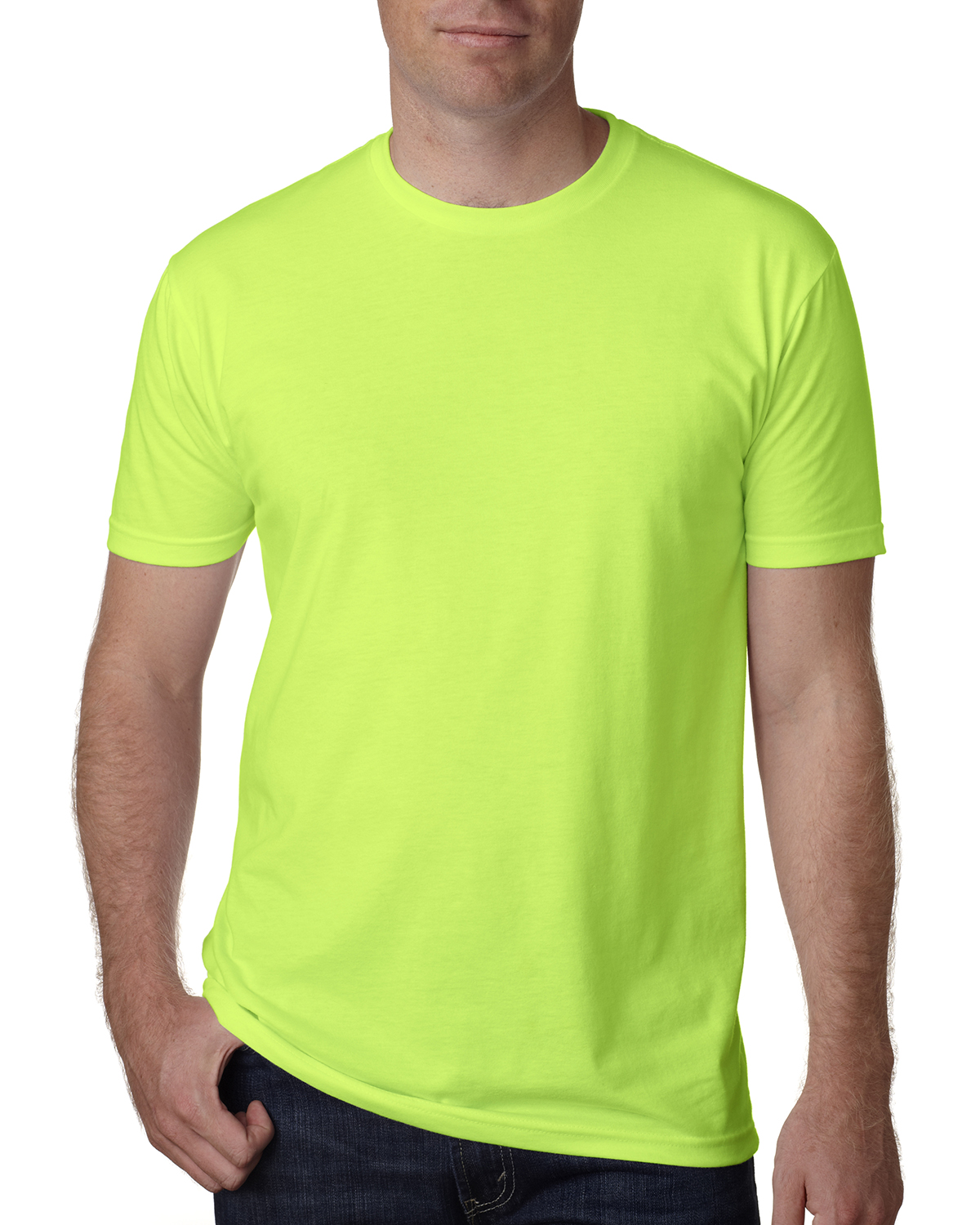click to view Neon Hthr Green
