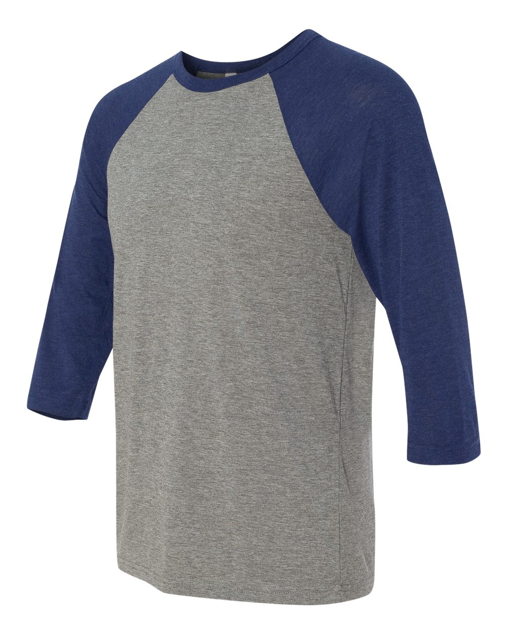 click to view Grey/Navy Triblend
