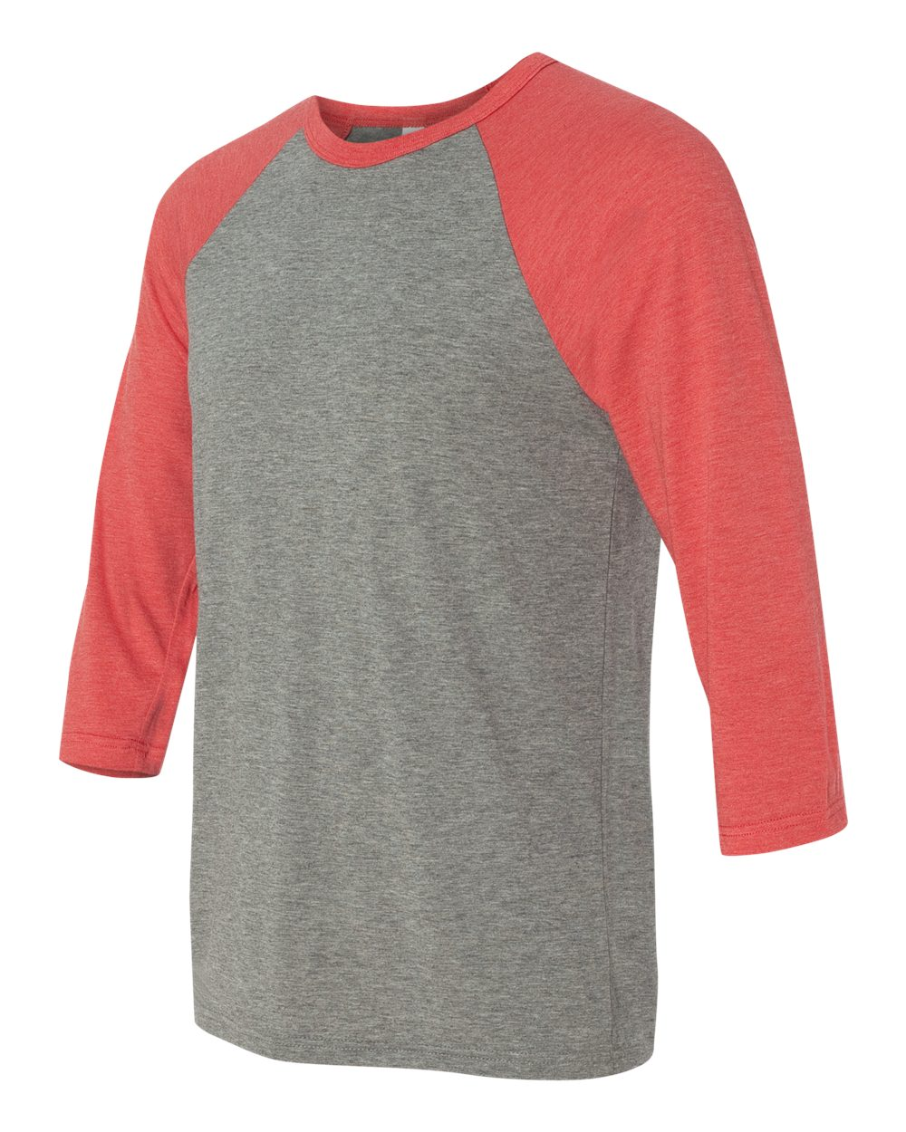 click to view Grey/Light Red Triblend