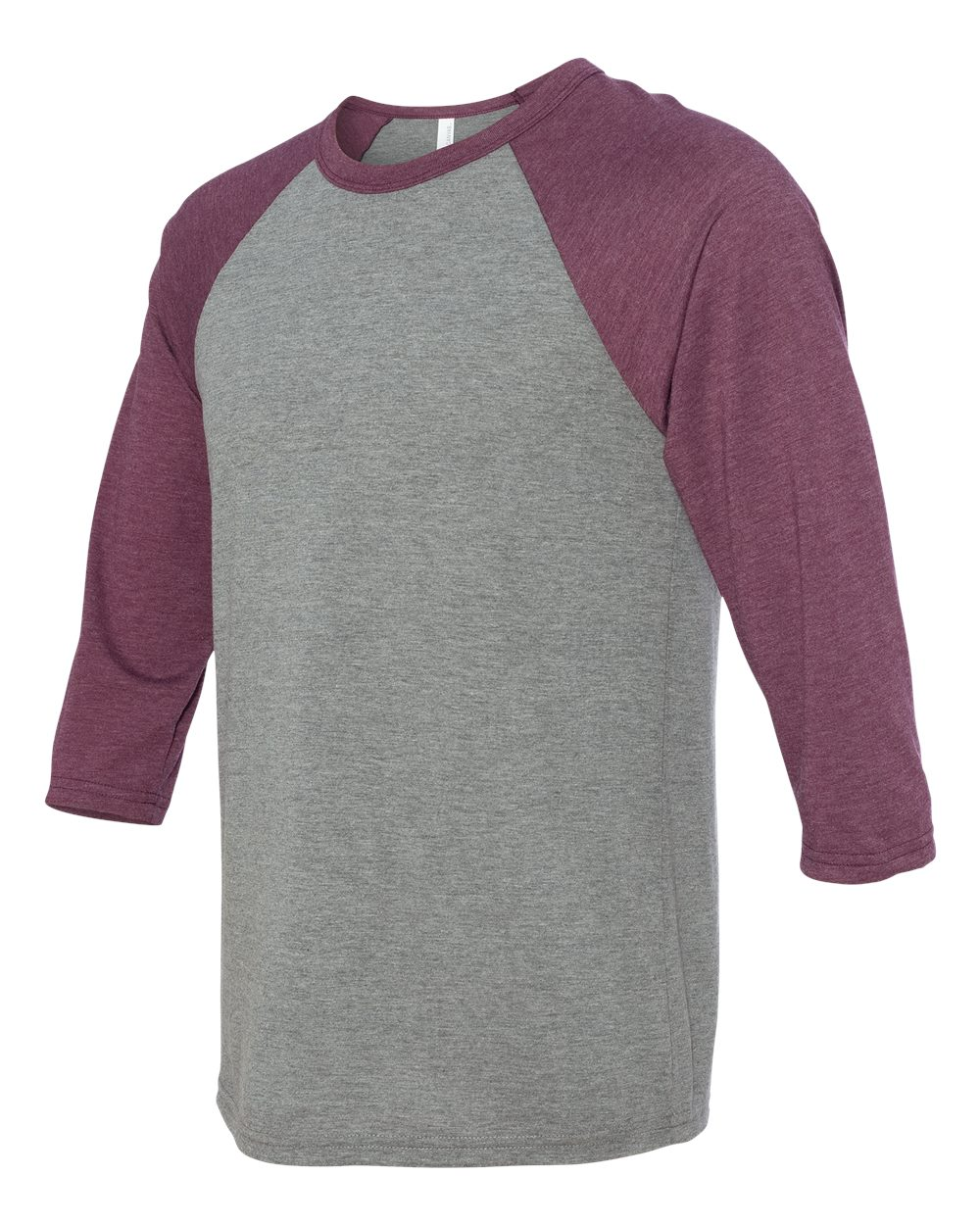 click to view Grey/Maroon Triblend