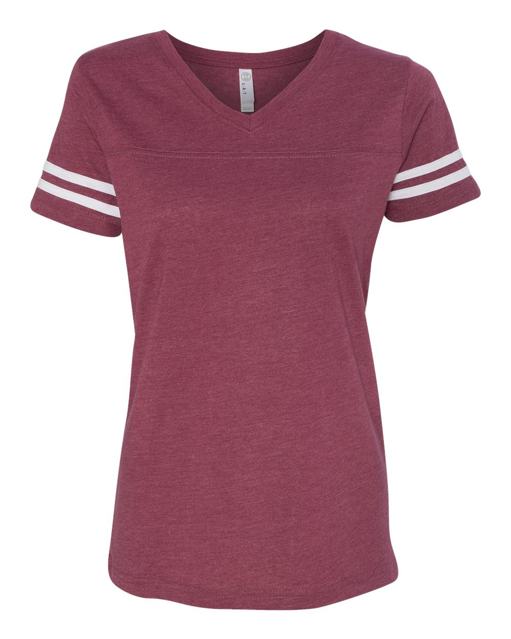 click to view Vintage Burgundy/White
