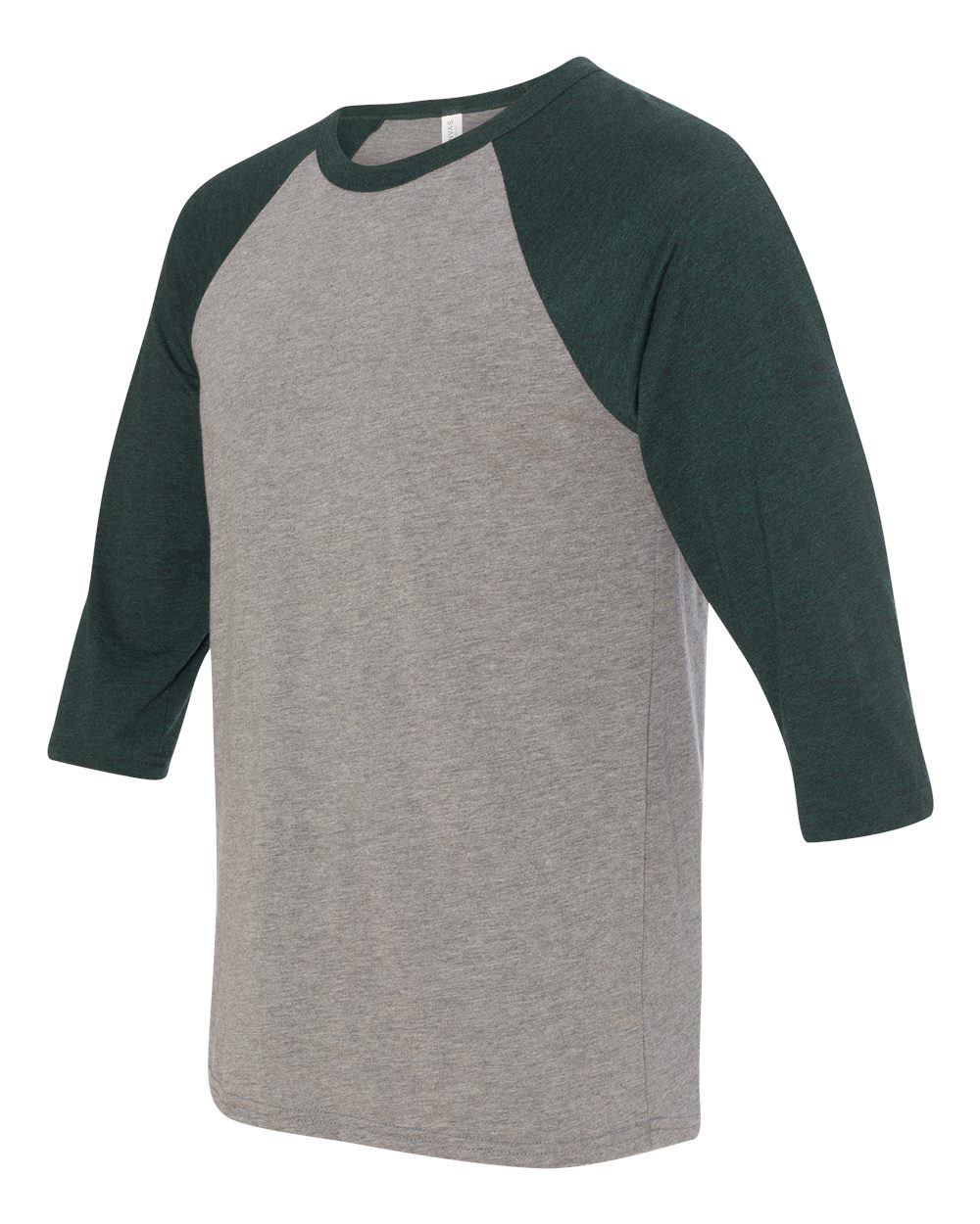 click to view Grey/Emerald Triblend