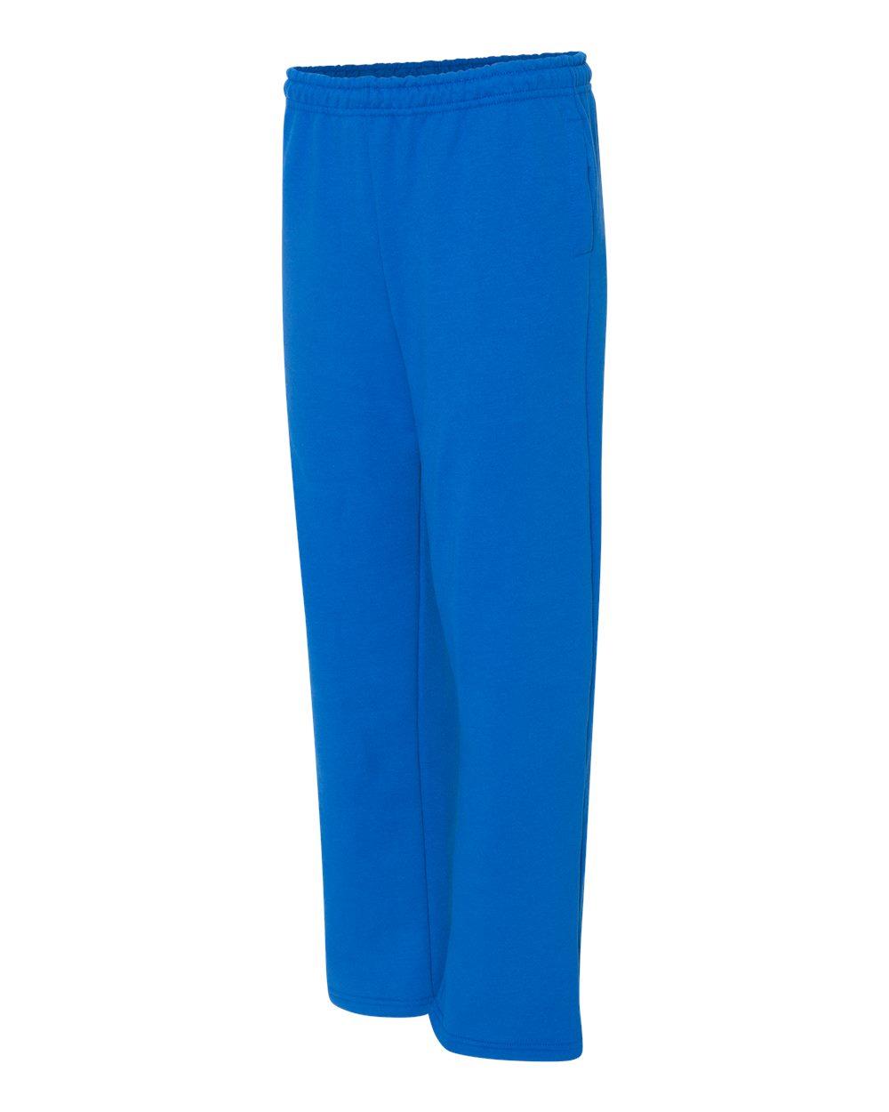 Gildan 18300 Heavy Blend Open Bottom Pockets Sweatpants