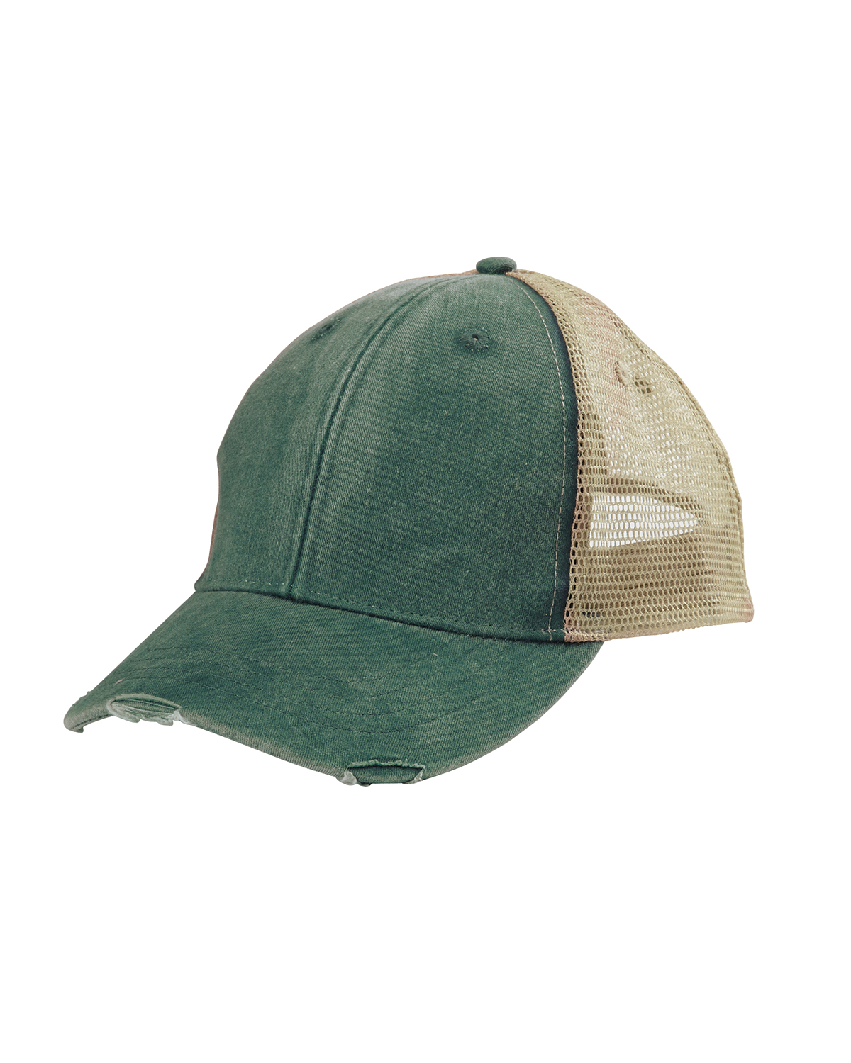44761181b Adams Caps OL102 - 6-Panel Pigment-Dyed Distressed Trucker Cap $5.70 ...