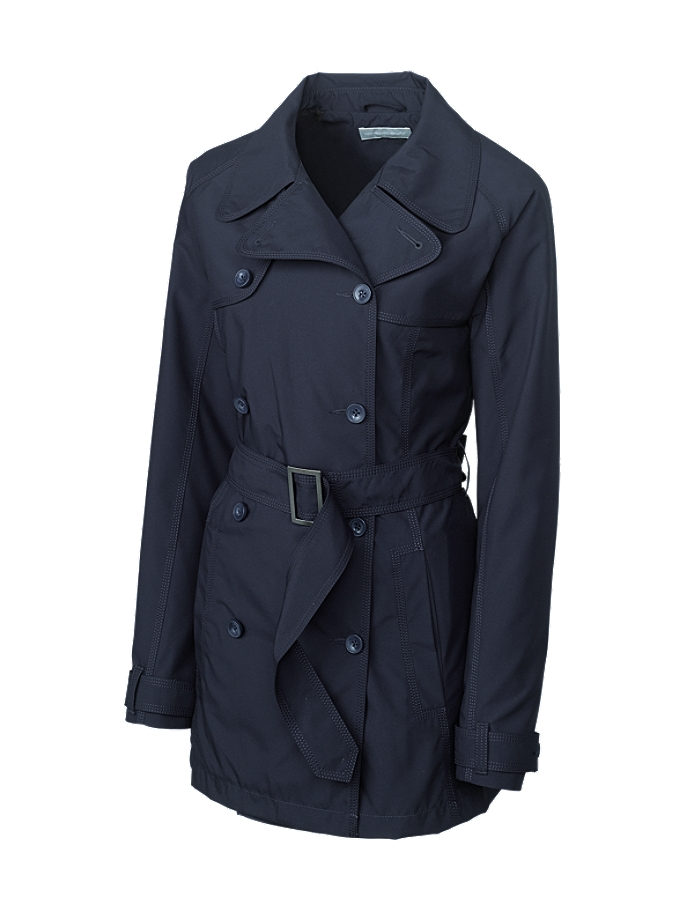Cutter Buck Lco01198 Ladies Cb Weathertec Mason Trench Coat