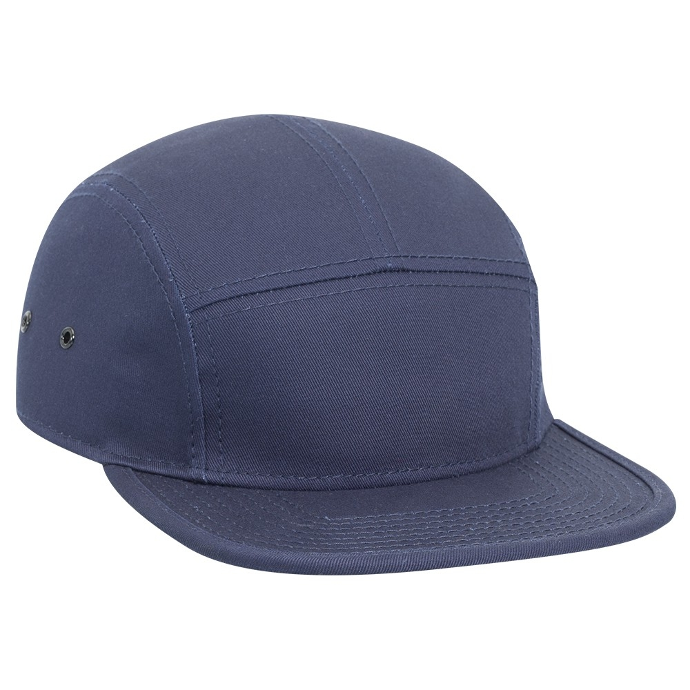 2e2d5661 Superior cotton twill square flat visor with binding trim solid ...