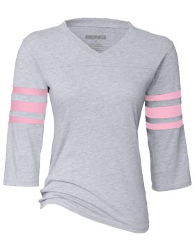click to view Athletic Heather/Pink
