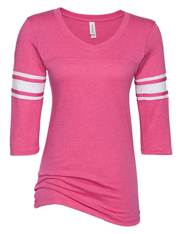 click to view Hot Pink/White