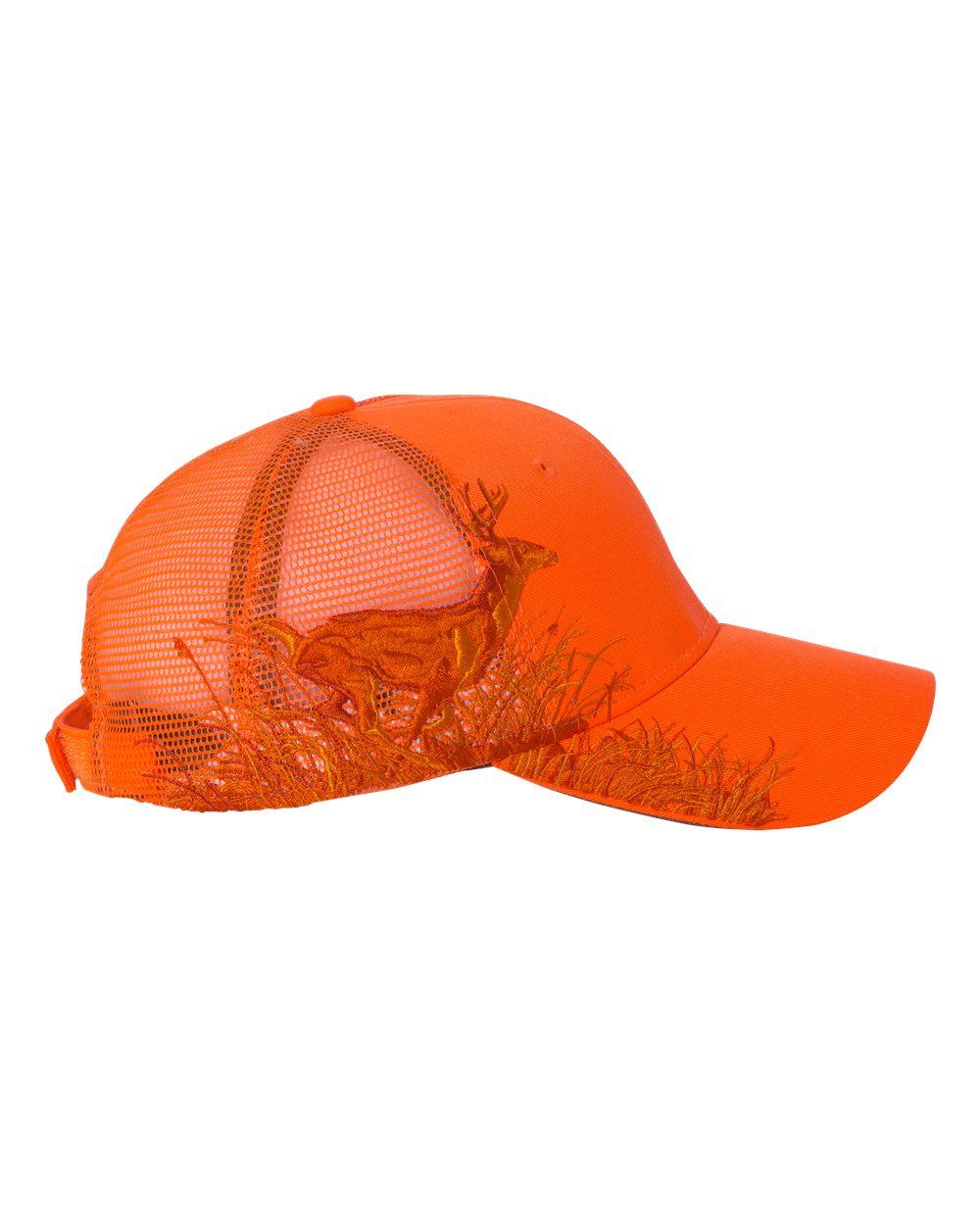 click to view Blaze Orange Mesh Back
