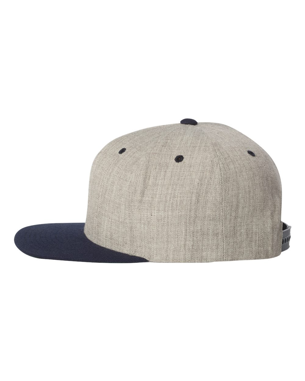 click to view Heather Grey/ Navy
