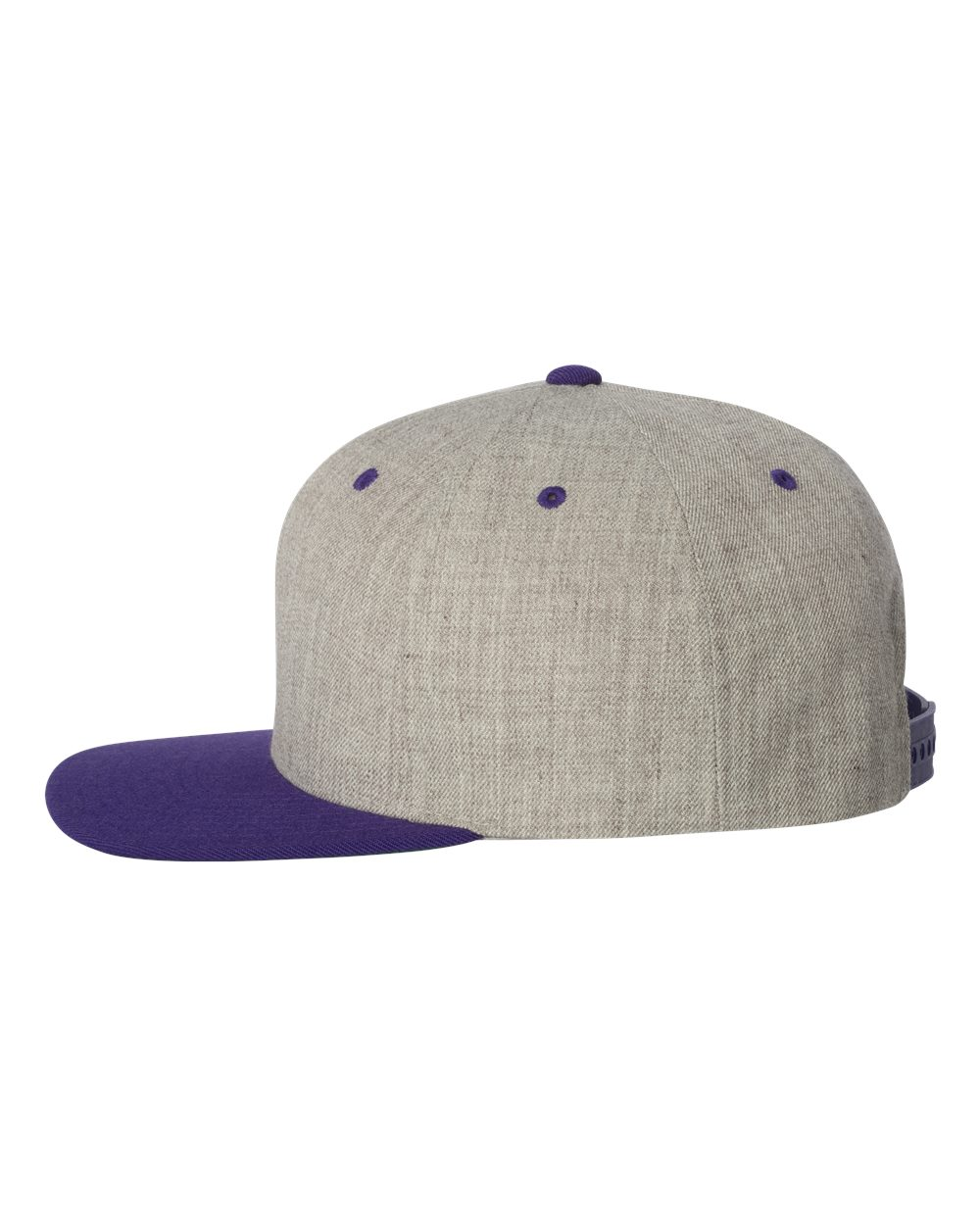 click to view Heather Grey/ Purple