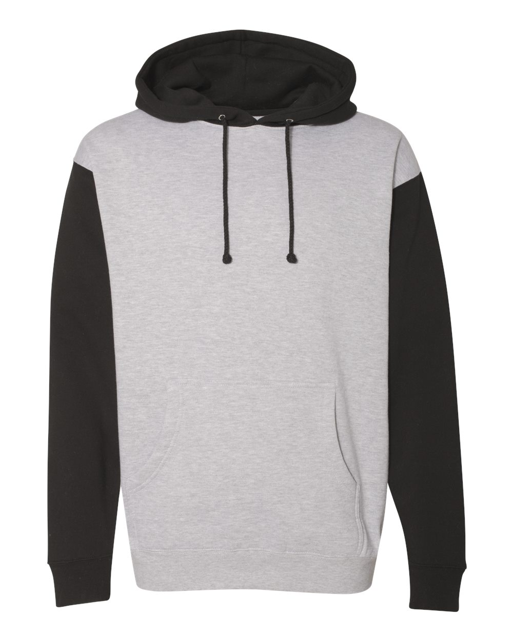 click to view Grey Heather/ Black