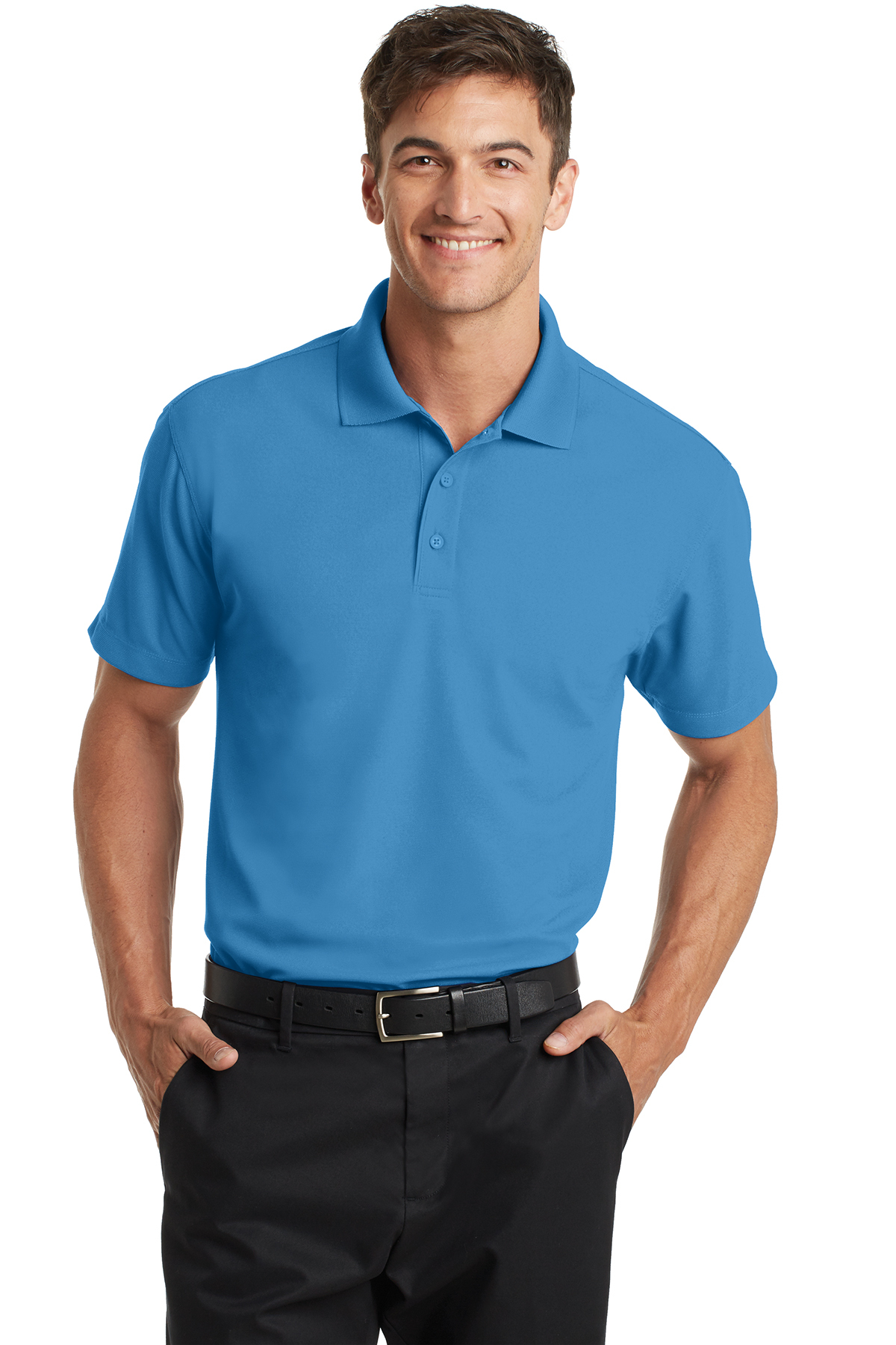 15127070a Port Authority K572 Dry Zone Grid Polo - Men s Sport Shirts