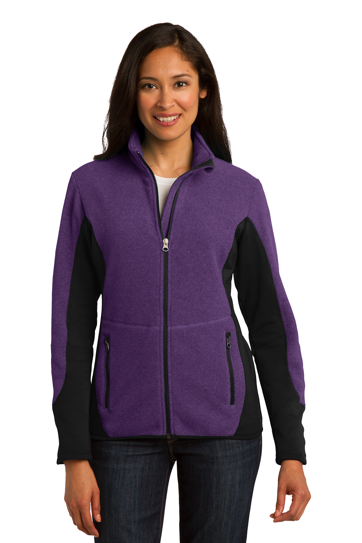 click to view Purple Heather/Battleship Grey