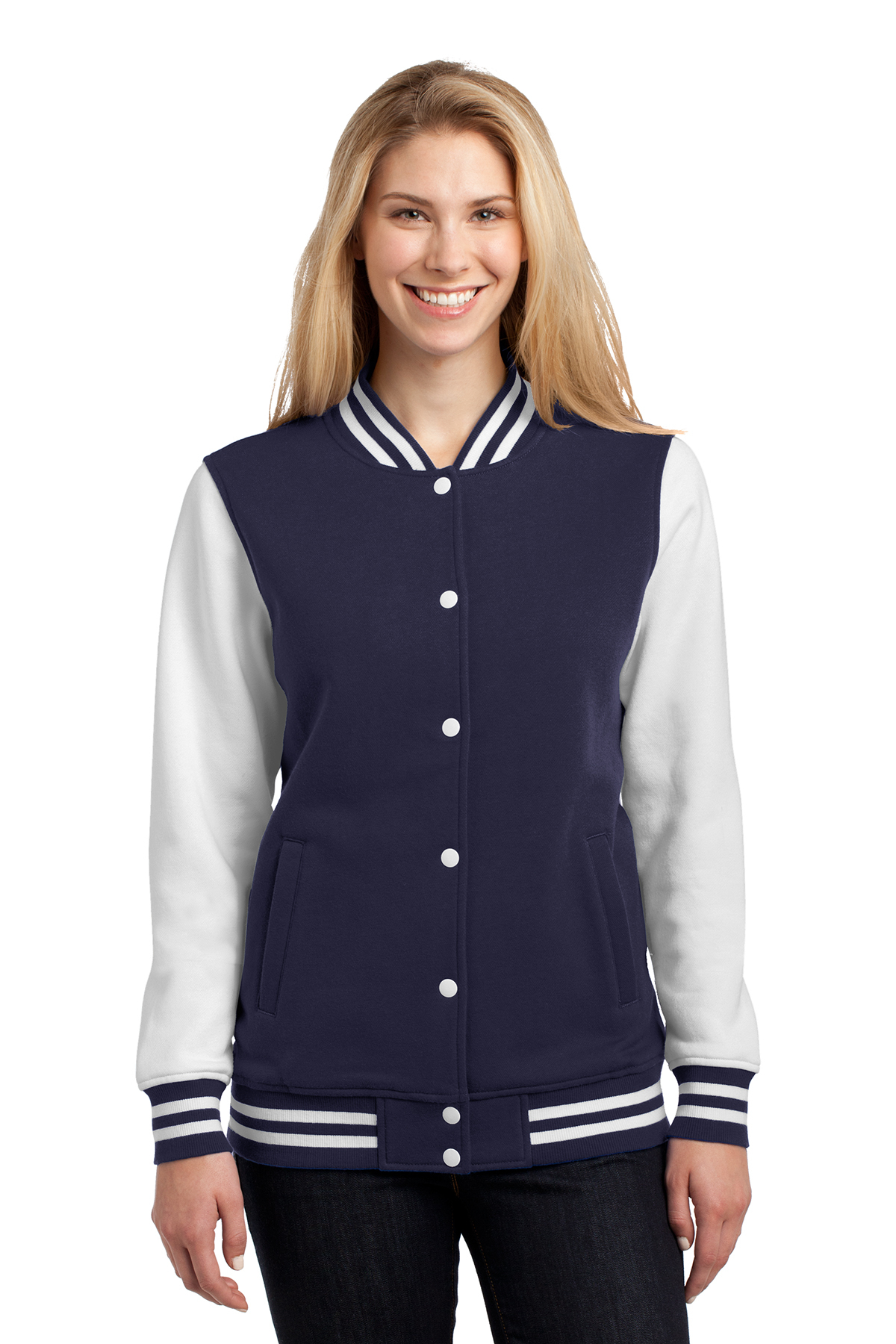 click to view True Navy/White
