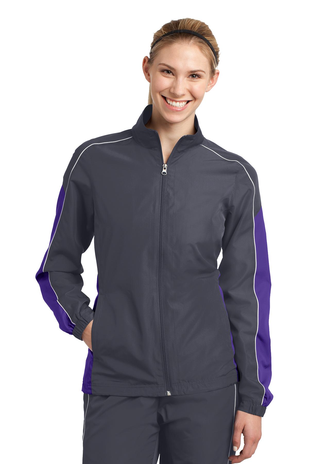 click to view Graphite Grey/Purple/White