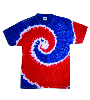 click to view Spiral Royal/Red
