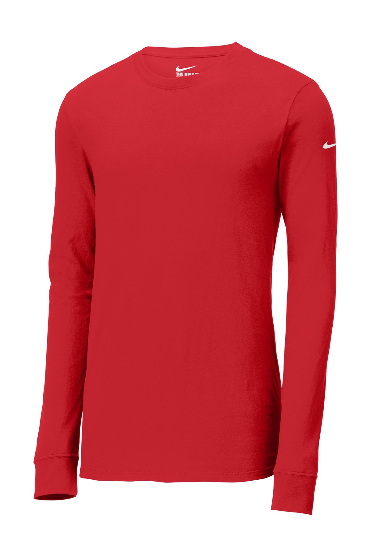 2ba41d43d18f Nike Golf NKBQ5232 - Men s Core Cotton Long Sleeve Tee - Men s T-Shirts