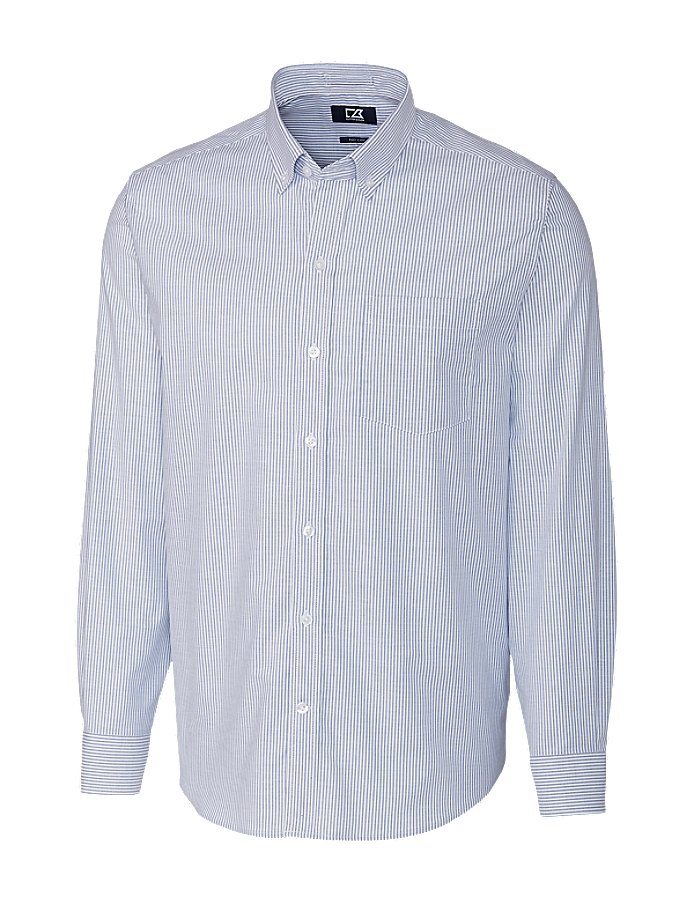 Mono Stripe Black or Gray Oxford Fabric 101741 Fabric