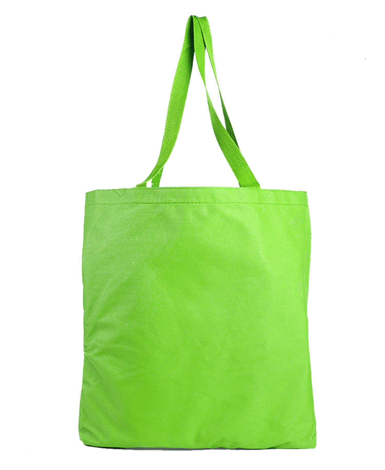 Q Tees Q91284 Polyester Tote Bag