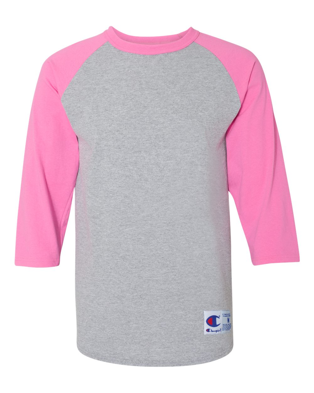 click to view Oxford Grey/ Charity Pink
