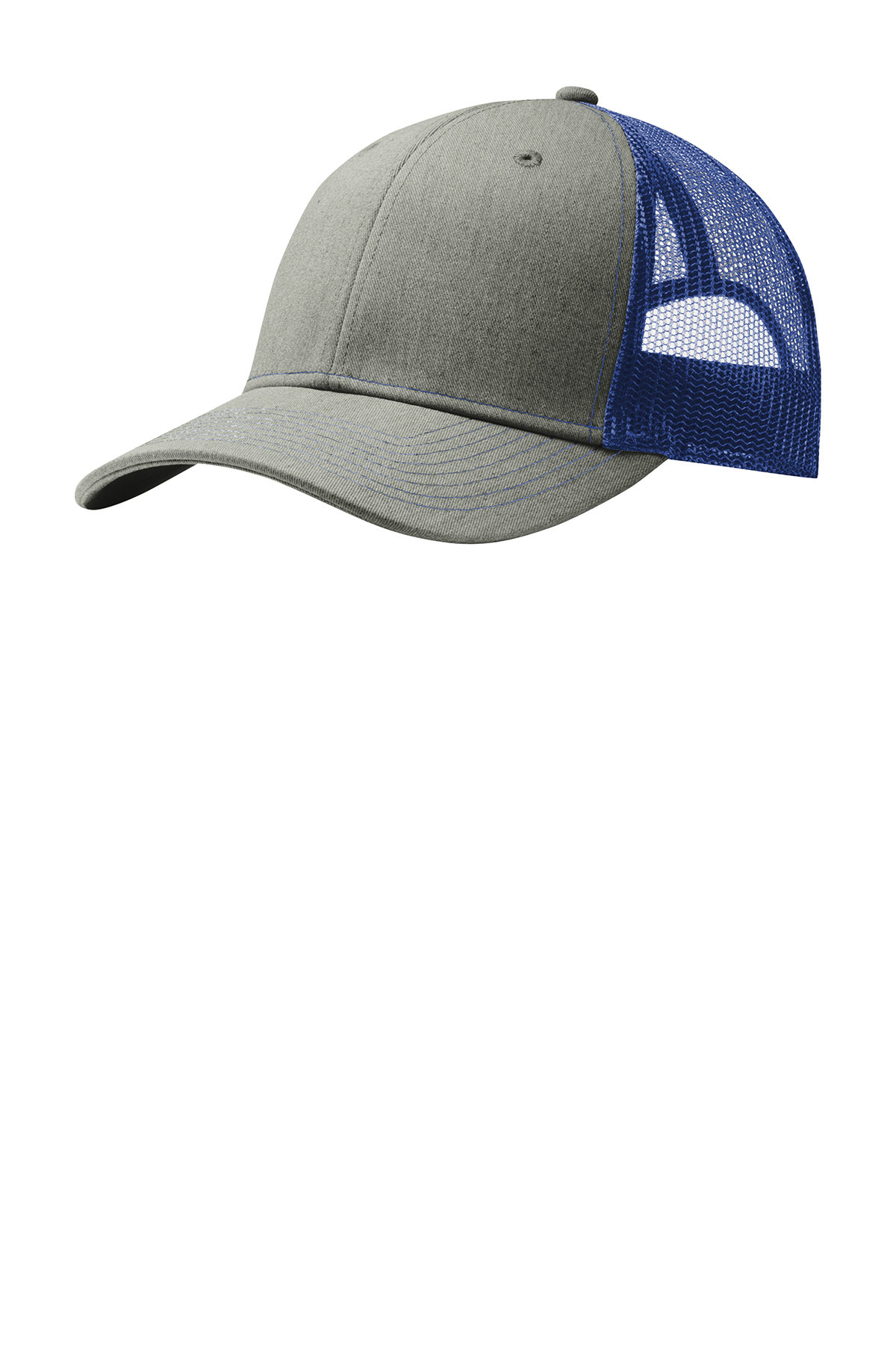 click to view Heather Grey/ Patriot Blue