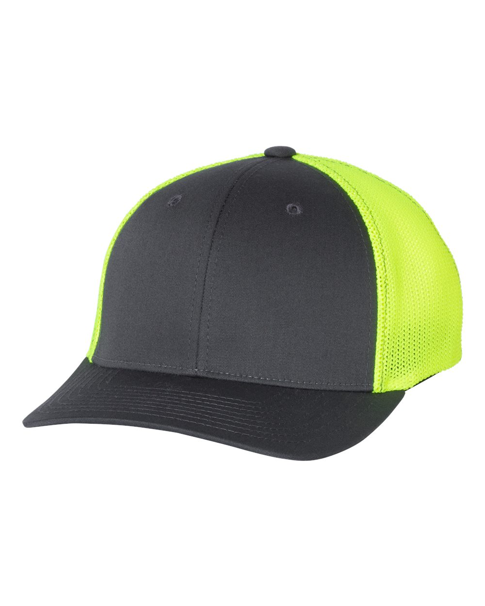 click to view Charcoal/ Neon Yellow