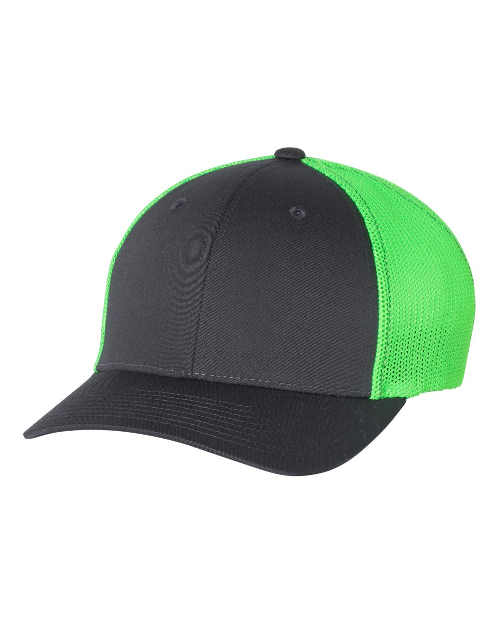click to view Charcoal/ Neon Green