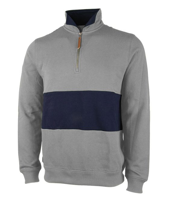 click to view Heather Grey/Navy 513