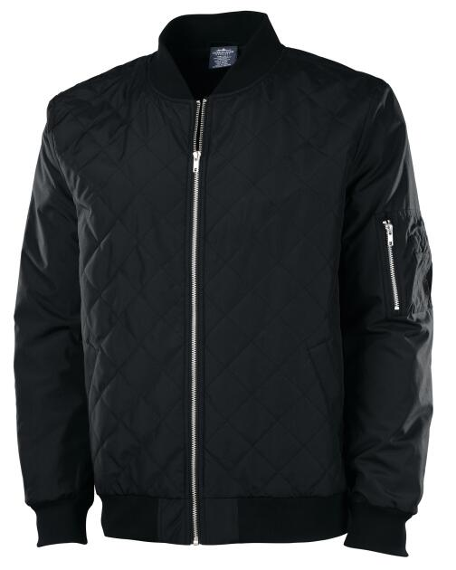 Charles River 9027 - Men's Quilted Boston Flight Jacket