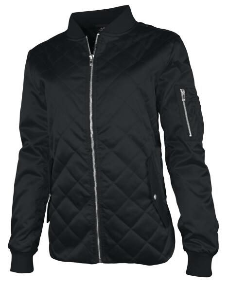 Charles River 5027 - Women's Quilted Boston Flight Jacket