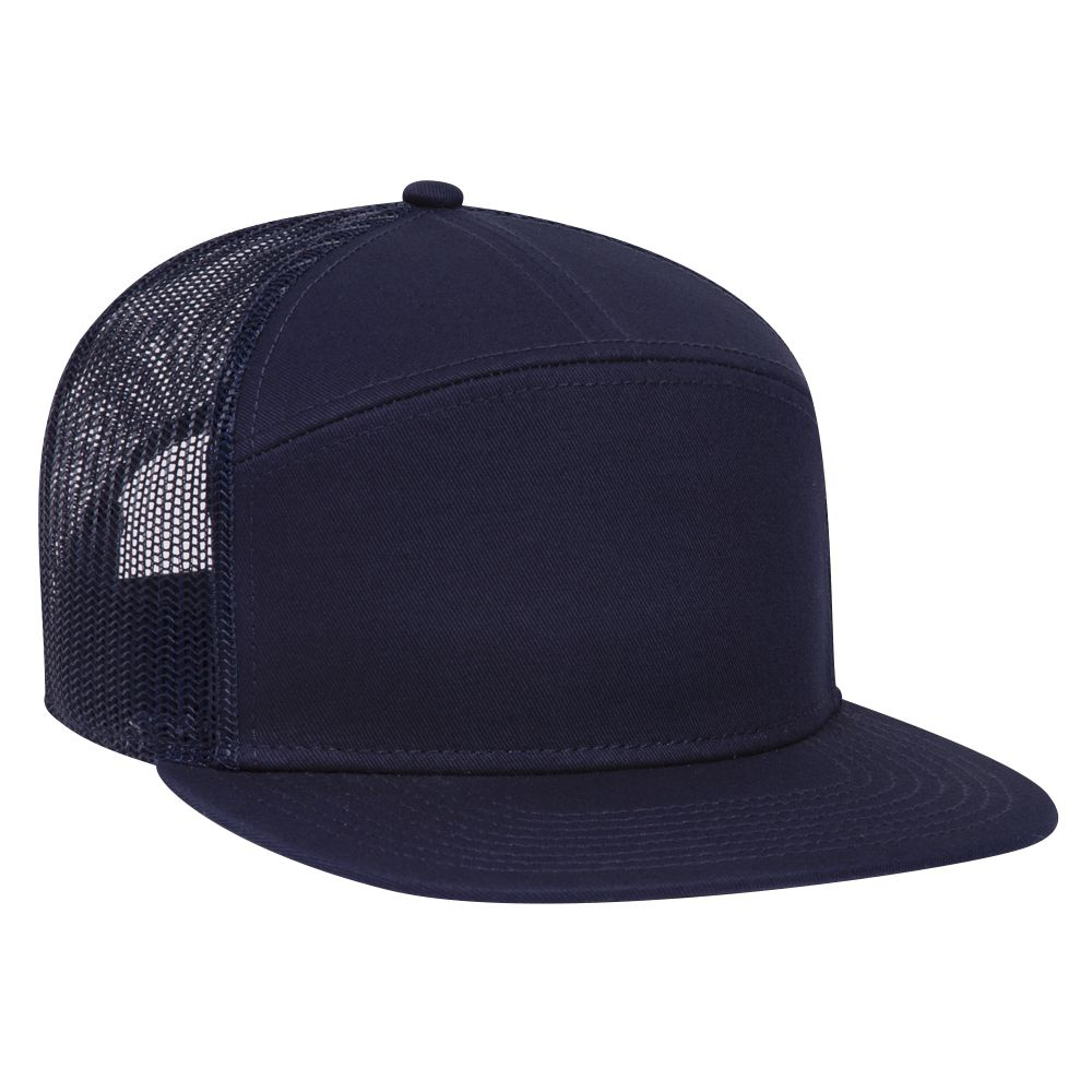 2x Hat Front Open 14817 Blue three Pointed