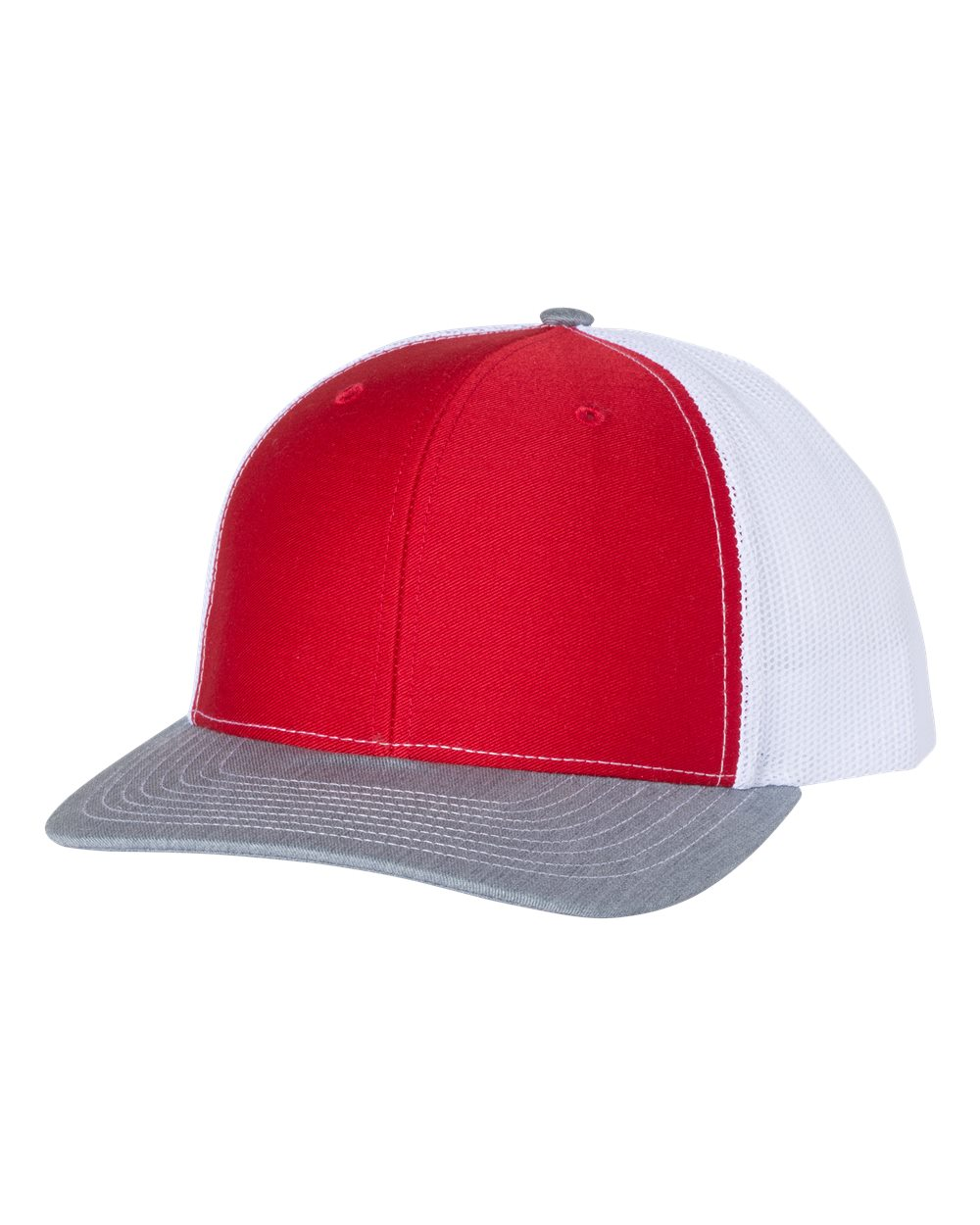 click to view Red/ White/ Heather Grey