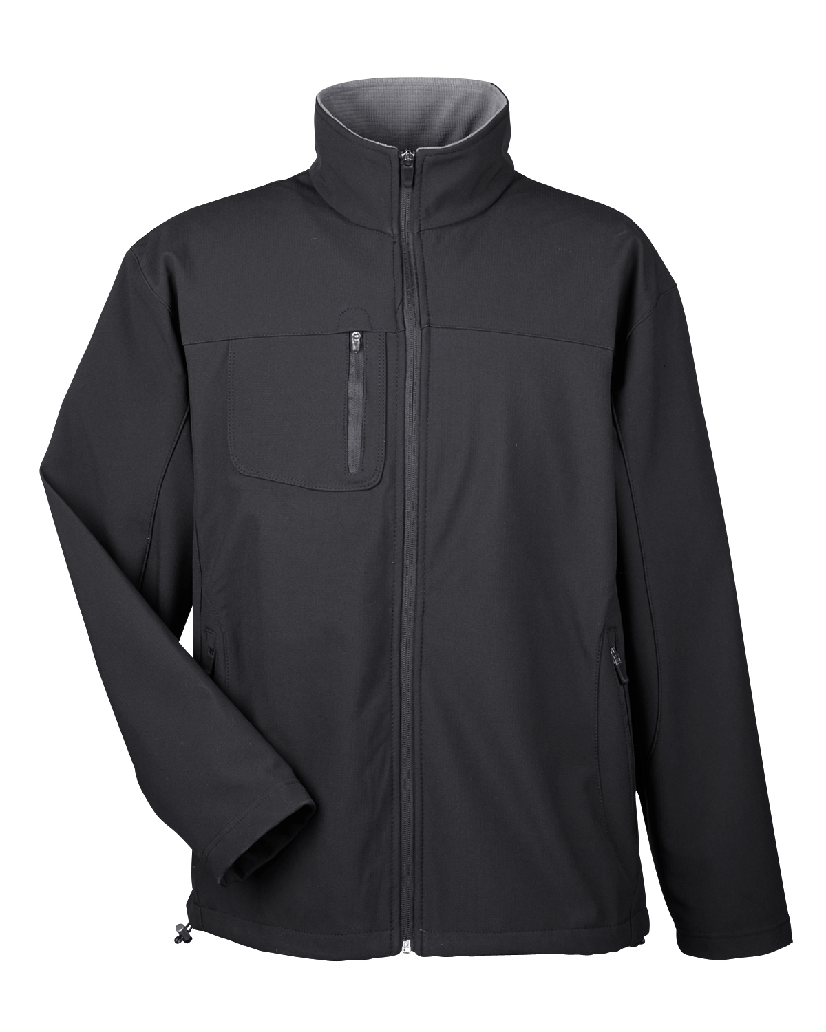 Ultra Club 8280 - Adult Soft-Shell Jacket with Cadet ...