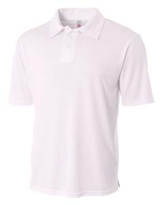 A4 Drop Ship N3261 - Men's Solid Interlock Polo Shirt