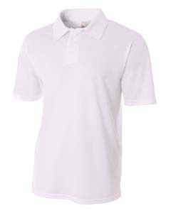 A4 Drop Ship N3262 - Men's Textured Polo Shirt