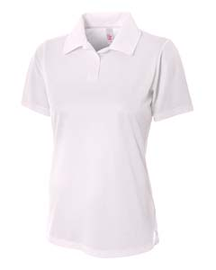 A4 Drop Ship NW3265 - Ladies' Textured Polo Shirt w/...