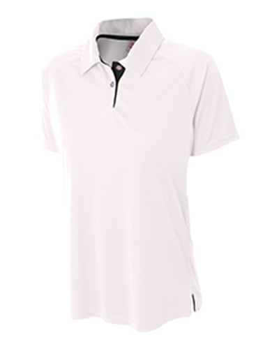 A4 NW3293 - Ladies' Contrast Polo Shirt