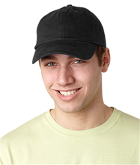 Adams Caps ACEB101 - Brushed Cotton Six-Panel Twill Cap