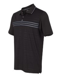 Adidas A124 - Golf Puremotion Three Stripe Chest Polo