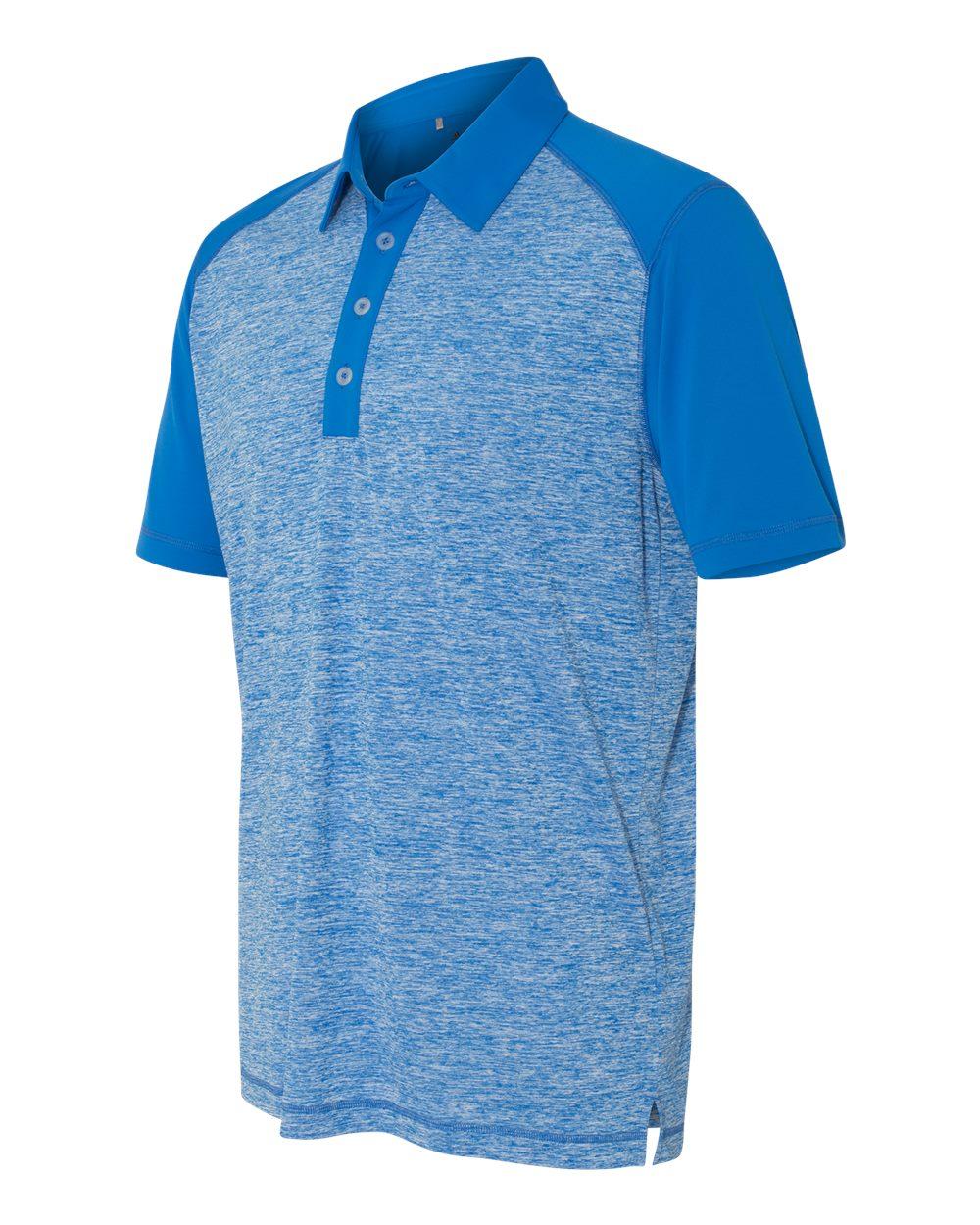 Adidas A145 - Golf Heather Colorblock Polo