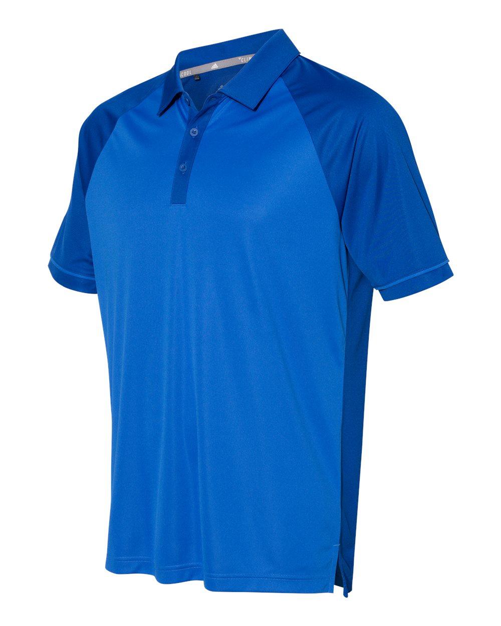 Adidas A207 - Men's Climacool Jacquard Raglan Polo