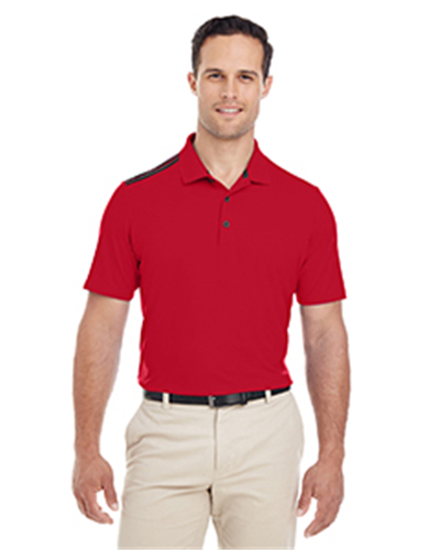 adidas A233 - Men's 3-Stripes Shoulder Polo