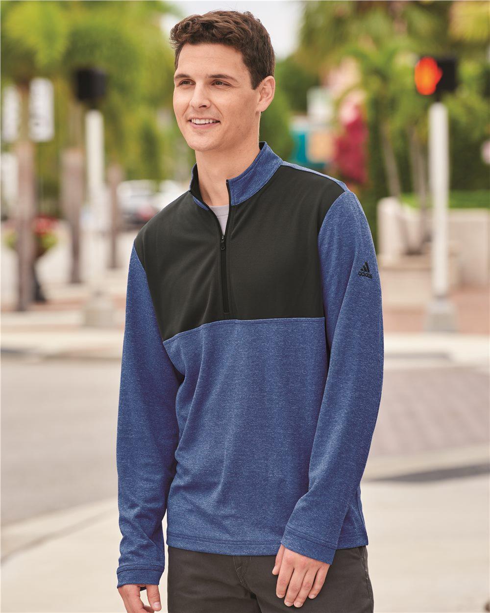 Adidas A280 - Men's Lightweight UPF pullover
