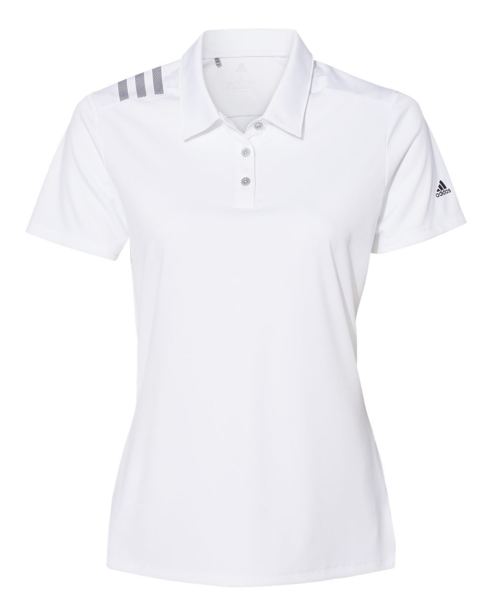 Adidas A325 - Women's 3-Stripes Shoulder  Sport Shirt