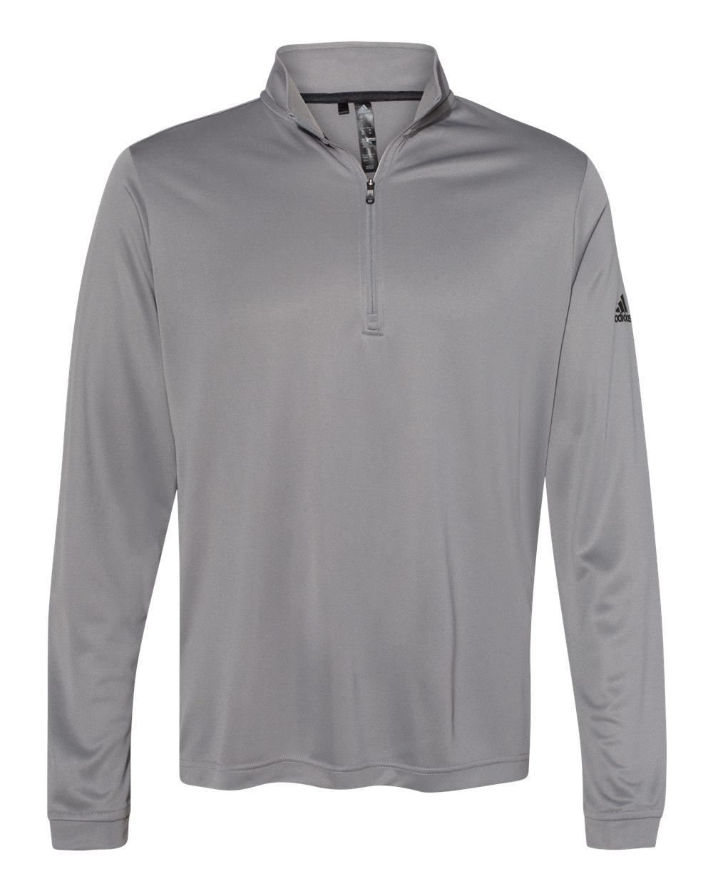 Adidas A401 - Lightweight Quarter-Zip Pullover