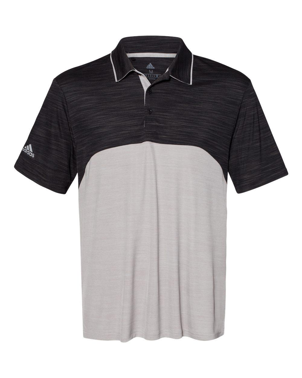 Adidas A404 - Colorblocked Melange Sport Shirt