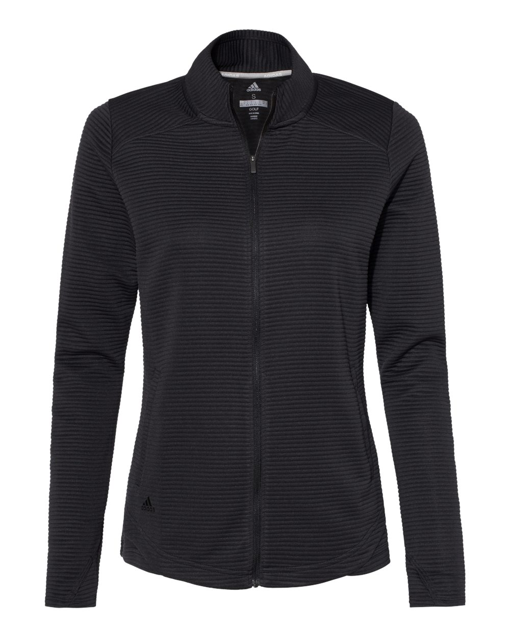 Adidas A416 - Women's Textured Full-Zip Jacket