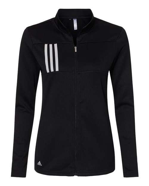 Adidas A483 - Women's 3-Stripes Double Knit Full-Zip