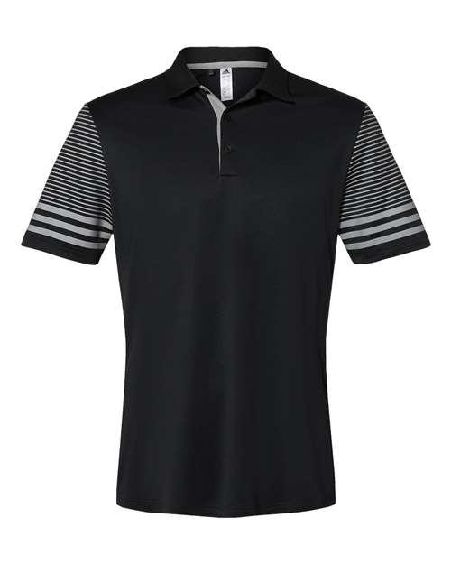Adidas A490 - Striped Sleeve Sport Shirt